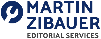 Martin Zibauer Editorial Services